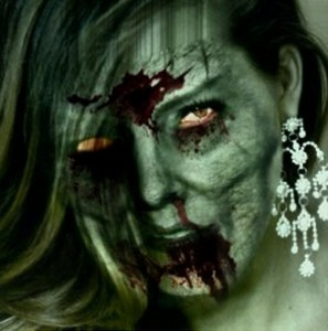 Beautiful Zombie Woman