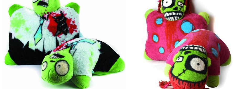 Zombie Plush Pillows – Cute, Cuddly, and Vicious