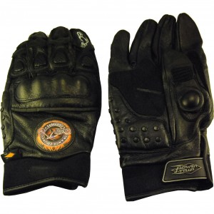 Motorcycle Riding Gloves, Our Choice for Zombie Protection.