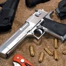 Desert Eagle Handgun Pistol .50 Versus Zombies